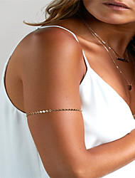 cheap -Geometric Body Chain Fashion Women's Gold Body Jewelry For Party / Special Occasion / Sports