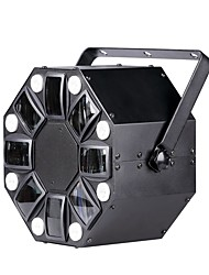 U'King® 60W Mix LED 8*3W White LED Strobe 5*3W RGBWY LED Efeect Stage Light 1pcs