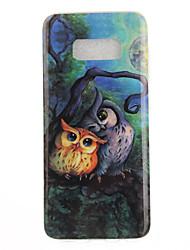 """economico -Custodia Per Samsung Galaxy S8 Plus S8 IMD Fantasia/disegno Custodia posteriore Fantasia """"Gufo"""" Morbido TPU per S8 S8 Plus S7 edge S7 S6"""
