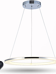 cheap -LED Ring Pendant Light Dimmable Ceiling Chandeliers Lighting for Dining Room with Remote Control