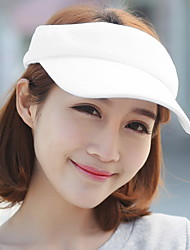 Unisex Korean Pure Color Empty Top Hat Outdoor Sun Baseball Cap