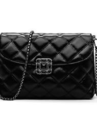 preiswerte -Damen Taschen PU Schultertasche für Draussen Schwarz
