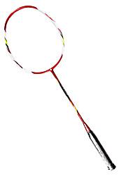 Raquetes para Badminton Durável Leve Fibra de Carbono 1 Peça para