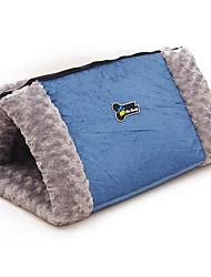 stuoie letto cane di animale domestico&tamponi di cotone morbido marrone di nylon