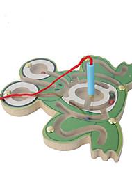 Gioco educativo Puzzle Labirinto Giocattoli Aereo Legno Cartoni animati Pezzi Giornata universale dell'infanzia Natale Regalo