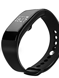 cheap -Waterproof v66 Heart Rate Monitoring Bracelet Bluetooth Touch-Screen Step Motion Meter Smart Bracelet