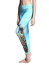 Per donna Collant da corsa Leggings da palestra Asciugatura rapida Traspirante Calze/Collant/Cosciali Pantaloni per Yoga Pilates Esercizi