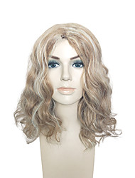 cheap -Capless Wig Blonde Mid-Part Synthetic Fiber Heat Resistant Hairstyle For Black Women