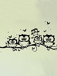economico -Animali Moda Botanica Adesivi murali Adesivi aereo da parete Adesivi decorativi da parete Adesivi misura altezza, Vinile Decorazioni per