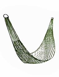 cheap -Camping Hammock Outdoor Foldable, Breathability Nylon for Hunting / Hiking / Fishing - 1 person Green