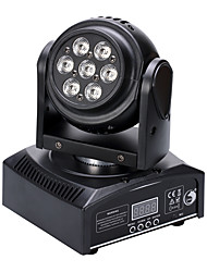 cheap -U'King® 50W Double Side 7 LEDs RGB 3 in 1 Moving Head Stage Lighting 11CH DMX Auto Sound Mode 1pcs