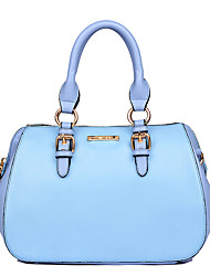 Women Bags All Seasons PU Tote for Wedding Event/Party Casual Formal Office & Career Blushing Pink LightBlue Dark Blue