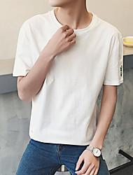 Garrafa impressão macho t-shirt bottoming camisa vento aberdeen