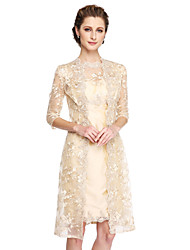 Women's Wrap Coats/Jackets Lace Wedding Lace