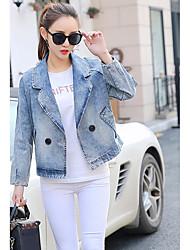 Really making 2017 new spring denim jacket female Korean wild short shirt tide loose jacket little jacket