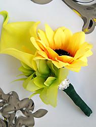 abordables -Fleurs de mariage Bouquets Boutonnières Déco de Mariage Unique Autres Fleur Artificielle Mariage Occasion spéciale Fête / Soirée Matière