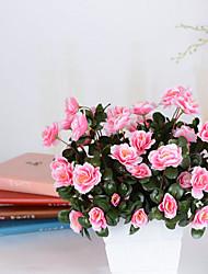 Недорогие -1 Филиал Гербарий Азалия Букеты на стол Искусственные Цветы