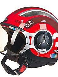 cheap -ZHUS motorcycle helmet MOMO modeling pedal half helmet retro Halley flying helmet 218C