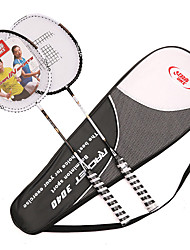 Badminton Rackets Low Windage Lightweight Durable One Pair for