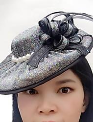 preiswerte -Tüllimitatperle Netzfaszinatoren kleidet leichten Stil des Kopfteils
