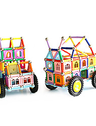 cheap -Magnetic Blocks Magnetic Sticks Building Blocks Vehicle Playsets Toys Magnetic Girls' Unisex Toy Gift