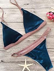 baratos -Mulheres Nadador Biquíni - Retalhos