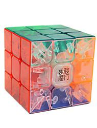 Недорогие -Кубик рубик YONG JUN 3*3*3 Спидкуб Кубики-головоломки головоломка Куб Гладкий стикер Соревнование Подарок Девочки