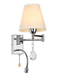 Lightmyself Wandleuchte für Schlafzimmer Leselampe Stoff Lampe