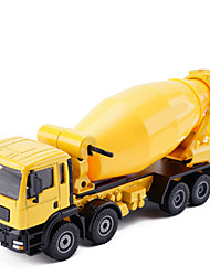 cheap -Construction Truck Set Concrete Mixer Toy Truck Construction Vehicle Toy Car Model Car 1:50 Music & Light Metal Unisex Kid's Toy Gift