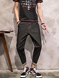 nach dem japanischen Original Harlan Strumpfhosen Cowboy neuen Männer personifizierte Taschen beiläufige Hosen Stretch-Denim 9