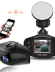 1080P Wifi Car DVR Camera Novatek 96658 Sony 323 Lens HD Video Registrator Mini Car Camera Recorder dash cam G-sensor WDR