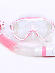 Snorkeling Packages Snorkels Swim Mask Goggle Diving / Snorkeling Rubber silicone-WHALE