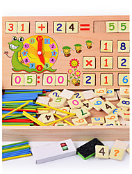 cheap -Montessori Teaching Tool Building Blocks Math Toy Educational Toy Square Education Classic Boys' Toy Gift