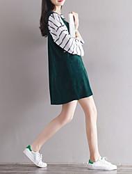Signer le premier arbre / la jupe en vrac littéraire robe en velours côtelé 17 nouveau printemps