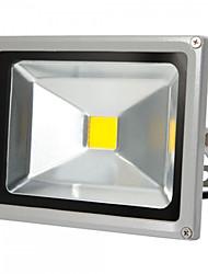 Недорогие -HKV 20W LED прожекторы Регулируется Простая установка Водонепроницаемый Кладовая Гараж / автостоянка Уличное освещение Тёплый белый