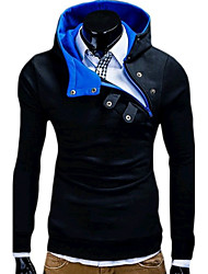cheap -Men's Sports Hoodie - Solid