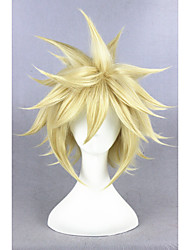 cheap -Short Final Fantasy 7 Wig Cloud Strife Wig Cosplay 14inch Anime Hair Wig CS-233A