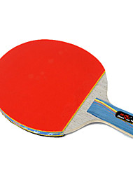 3 Stelle Ping-pong Racchette Ping Pang Legno Manopola corta Brufoli