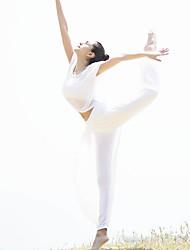 Yoga Set di vestiti/Completi Traspirante Traspirabilità alta (> 15001 g) Materiali leggeri Comodo Anelastico Elastico Elevata elasticità