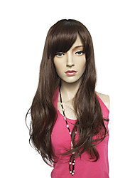 cheap -Long Wavy Synthetic Fiber Wig Capless Costume Cosplay Hairstyle