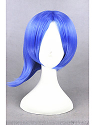 Short Inside Out Sadness Blue 14inch Ainme Synthetic Party Cosplay Wigs CS-274B