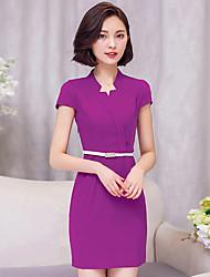 firmare estate nuovo vestito a maniche corte femminile di usura del lavoro grandi cantieri sottile