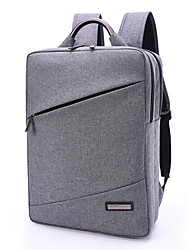 TUGUAN 15.6 Inch Laptop Bags Snowflake Cloth Square Style Computer Shoulder Bag Aluminum Alloy Handle Corrosion Resistance for Men