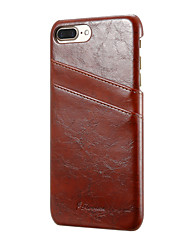 cheap -Luxury Genuine Leather Case Cover Wallet Card Holder Shell Funda For iPhone 5 5S SE 6 6 Plus 7 7Plus