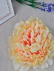 1 Une succursale Fibre Pivoines Fleur de Table Fleurs artificielles