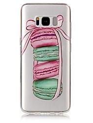 economico -Custodia Per Samsung Galaxy S8 Plus S8 IMD Transparente Fantasia/disegno Custodia posteriore Alimenti Morbido TPU per S8 S8 Plus S7 edge