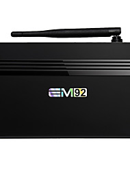 baratos -EM92 Android6.0 TV Box Amlogic S912 2GB RAM 16GB ROM Octa Core