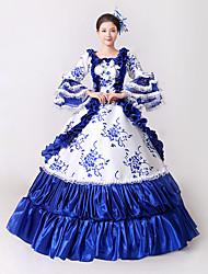 cheap -Steampunk®  Marie Antoinette Masquerade Victorian Queen Ball Gown Wedding Dress Reenactment Theater Rococo Dresses