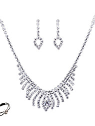 cheap -Women's Jewelry Set - Fashion, Euramerican Include White For Wedding / Party / Daily / Rings