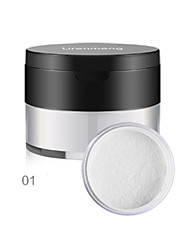 cheap -1 Powder Dry Loose powder Uneven Skin Tone Brightening Face #
